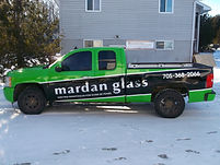 Mardan Glass - full business vehicle wrap by Beacon Images