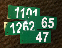 civic address signs 911 signs residentia