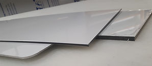aluminum and alupanel materials for signs