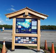 Western Red Cedar informational interpre