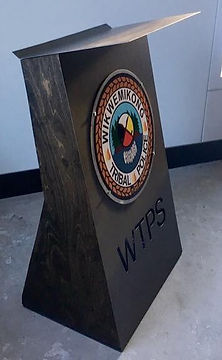 podium sticker collaboration