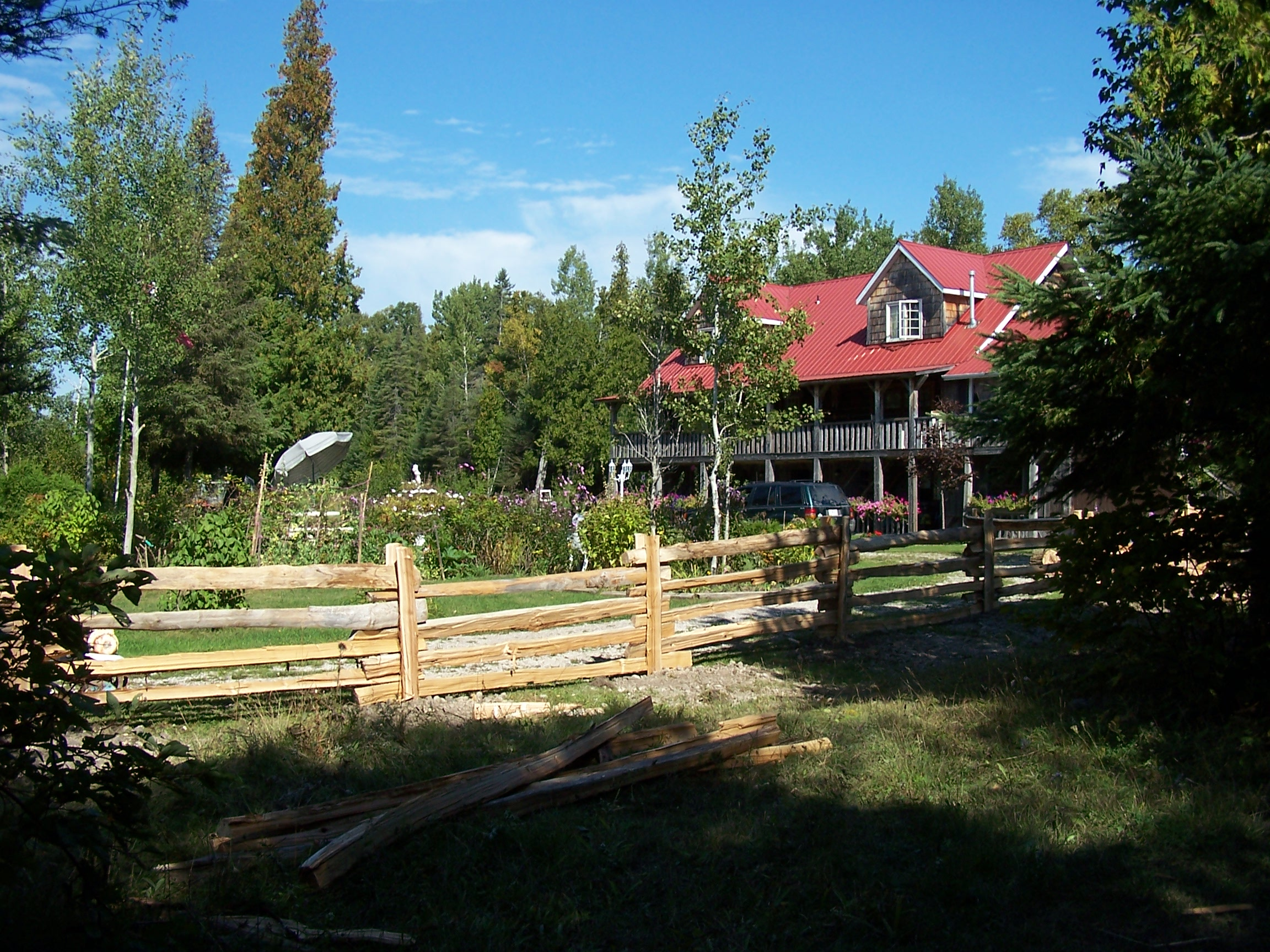 straight rail fence - property 2