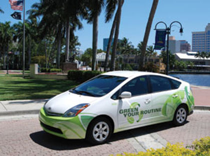 City of Fort Lauderdale Green Your Routine Vehicle