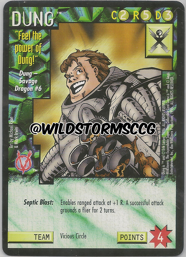 wildstorms ccg promo