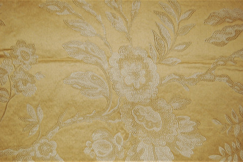 Embroidered Damask Yellow