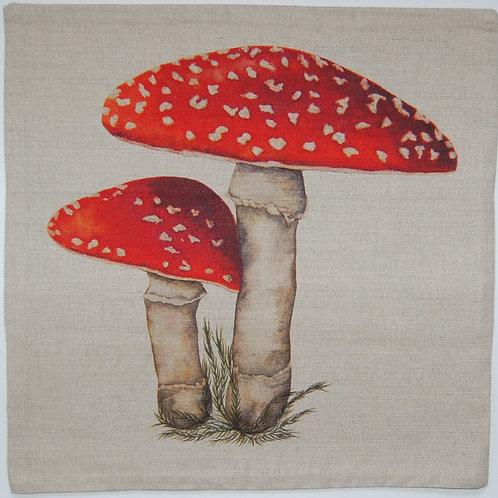 Toadstool cushion