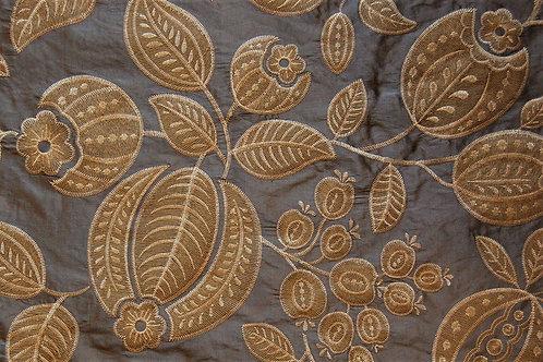 Jane Churchill Silk Embroidered Pomegranate