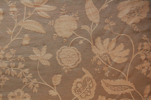 Colefax & Flowler Embroidered Camille Silver