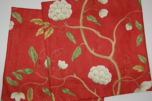 Colefax & Fowler Snowtree Red