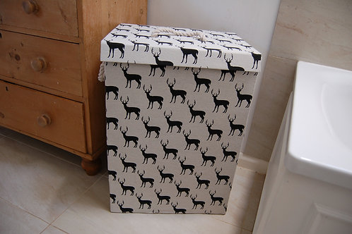Deer design Storage Box - Large with lid