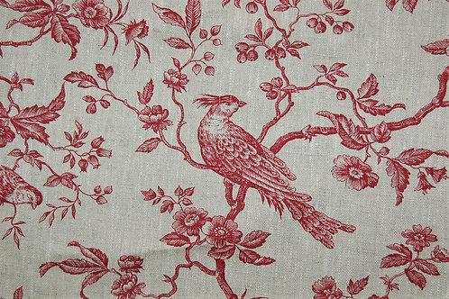 """French Linen """"Regal Bird Pink"""""""