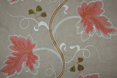 """Colefax & Fowler Embroidered """"Tree of Life"""""""