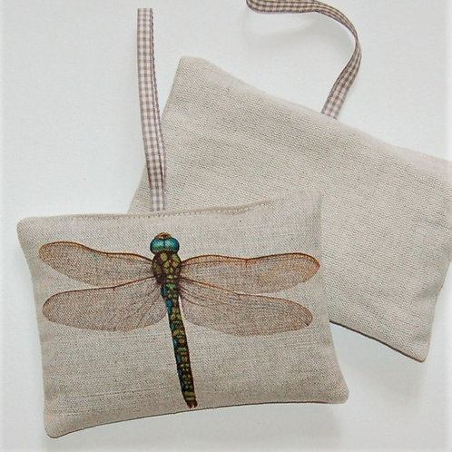 Dragonfly Lavender Pillow