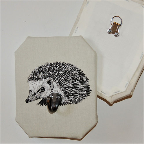 Hedgehog light background decorative wall hook