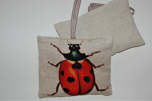 Ladybird Lavender Pillow