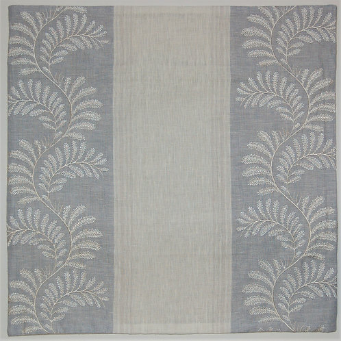 Colefax & Fowler Embroidered Valora Blue