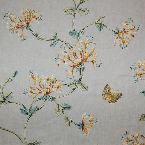 Colefax & Fowler Embroidered Honeysuckle