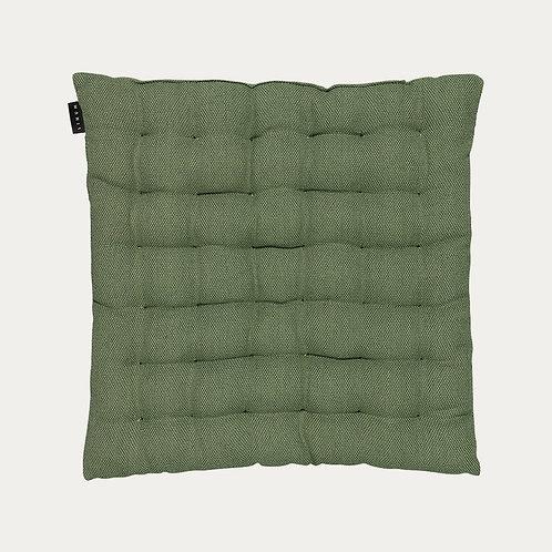 Sitzkissen aus Baumwolle - dunkelgrün