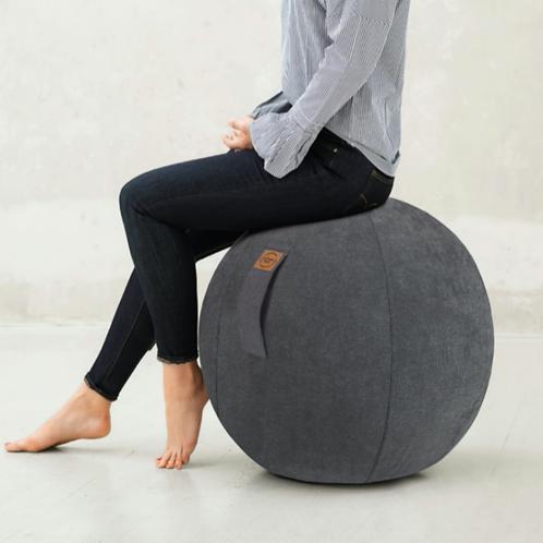 Sitzball mit Bezug - verschiedene Farben