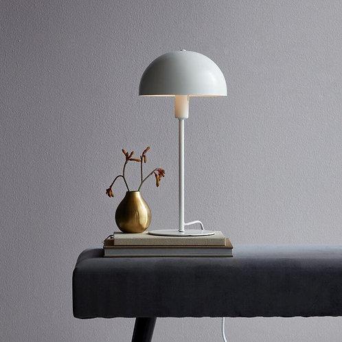 Tischlampe Metall - weiss