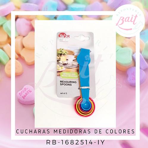 Cucharas Medidoras de Colores