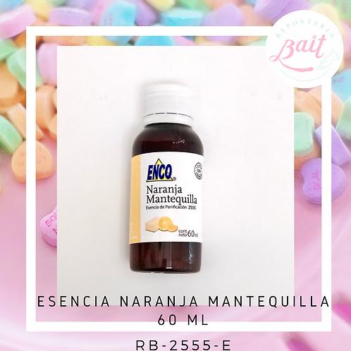 Esencia Naranja Mantequilla 60 ml