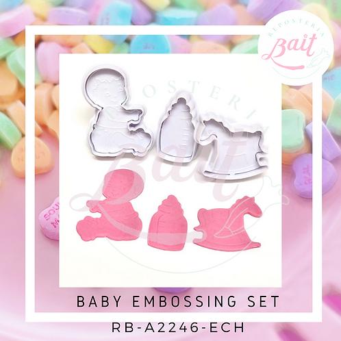 Baby embossing set