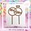 Thumbnail: CAKE TOPPER NATURAL STD