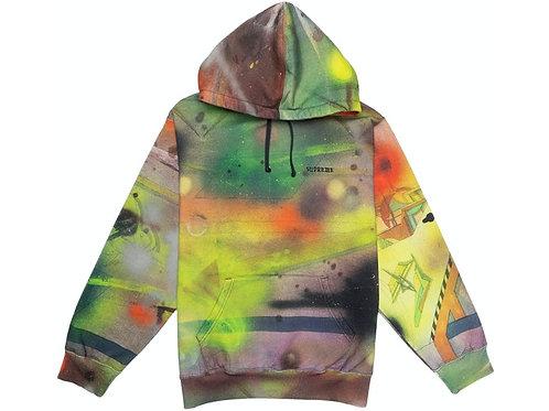 Supreme Rammellzee Hooded Sweatshirt Multicolor