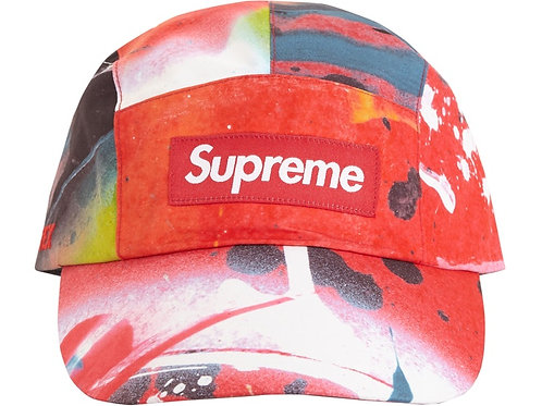 Supreme GORE-TEX Long Bill Camp Cap Rammellzee Red