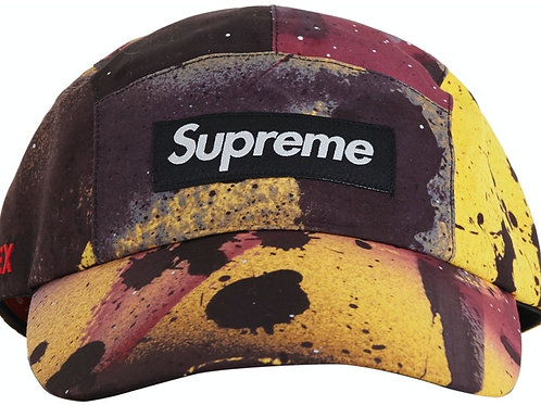 Supreme GORE-TEX Long Bill Camp Cap Rammellzee Yellow