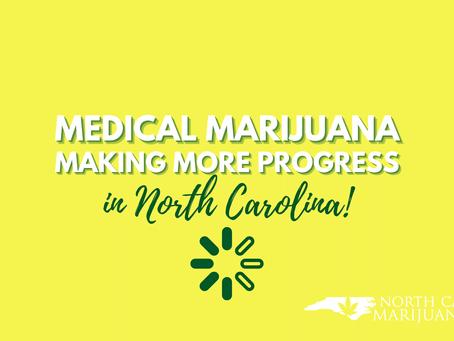 Medical Marijuana Making More Progress in North Carolina