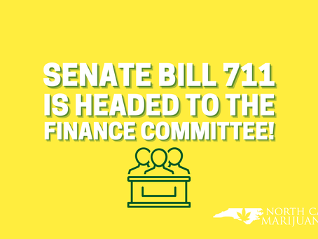 Senate Bill 711 is headed to the Finance Committee!