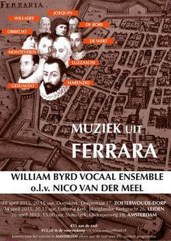 Muziek uit Ferrara