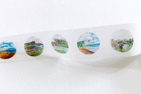 微縮世界紙膠帶 英國篇 The Tiny Landscape UK Washi Tape