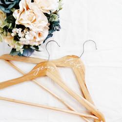 Calligraphy Product: Wooden hangers