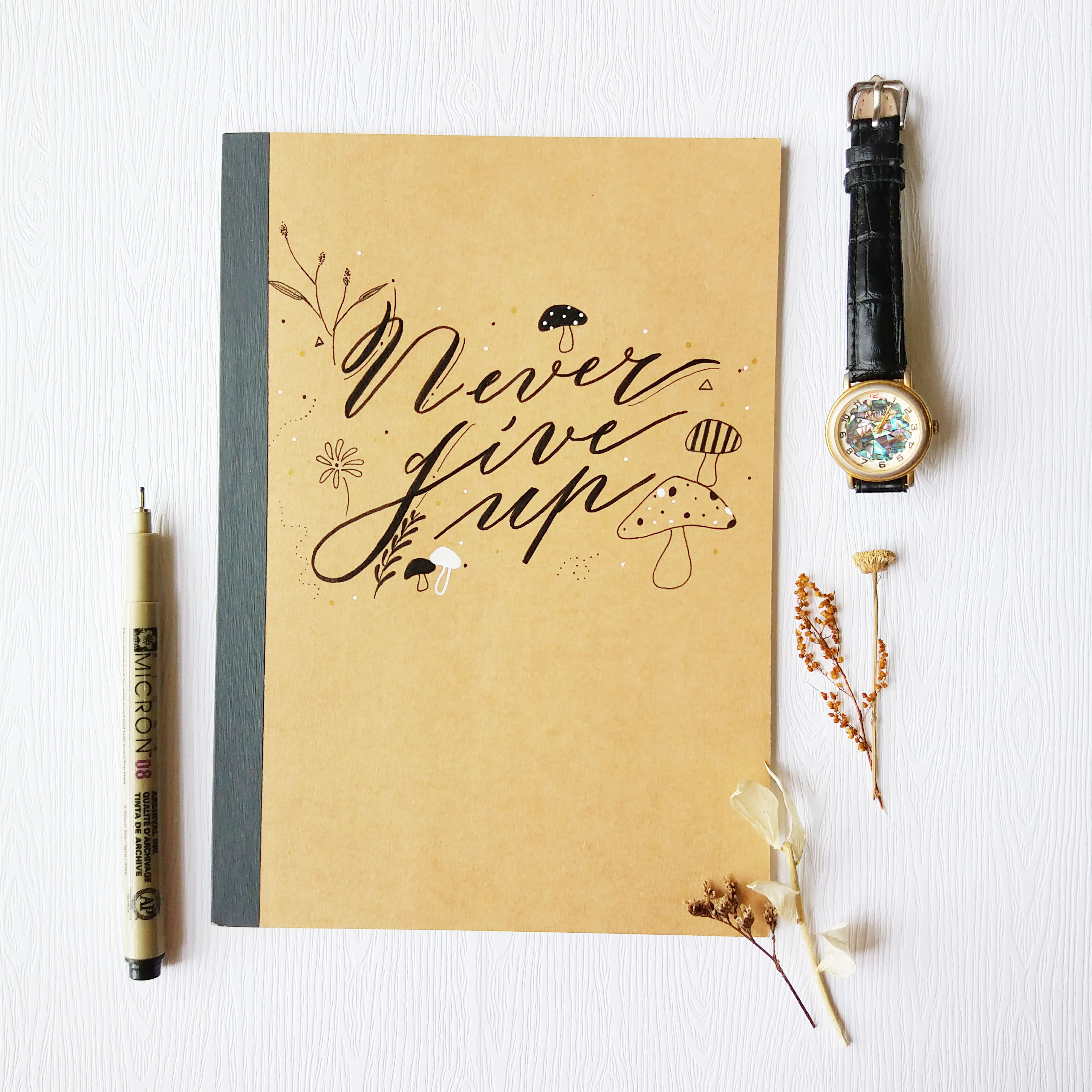 Calligraphy Product: Notebook