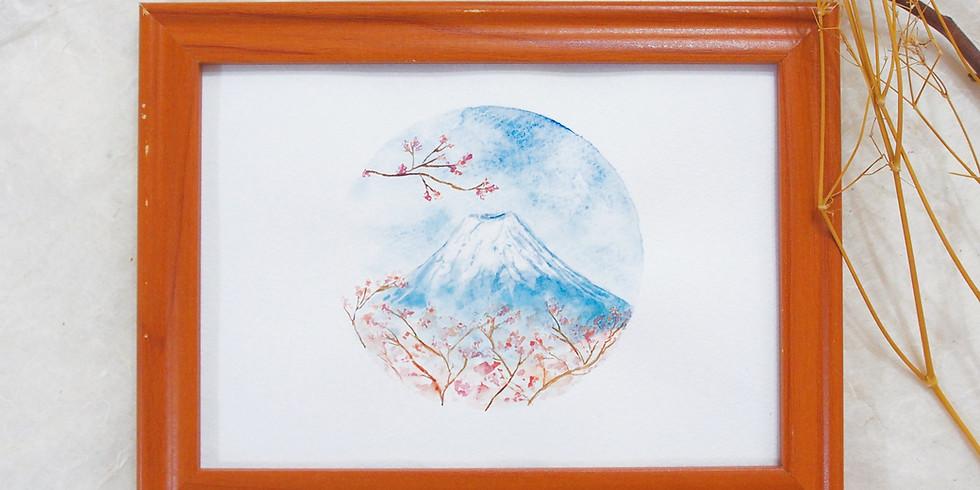 悠長假期・不透明水彩風景畫工作坊 Gouache Landscape Painting Workshop