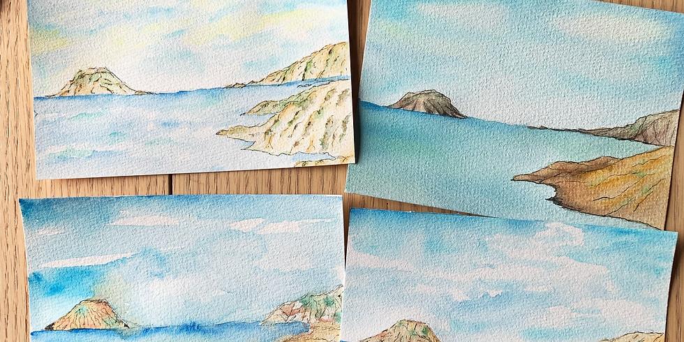 (2 seats left) 悠長假期・水彩風景畫工作坊 Watercolor Landscape Painting Workshop