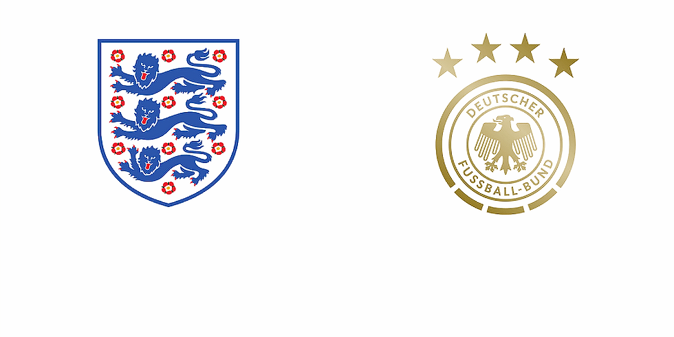 England vs Germany At The Wells - In The Hall - KO 5pm