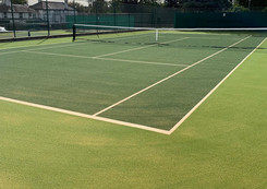 2 Newly Laid Artificial Grass Courts