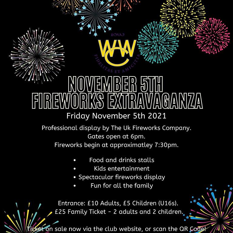 The Woodford Wells Club - Fireworks Extravaganza