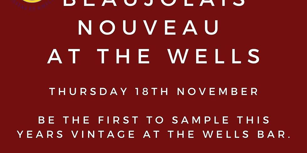 Beaujolais nouveau  at the wells