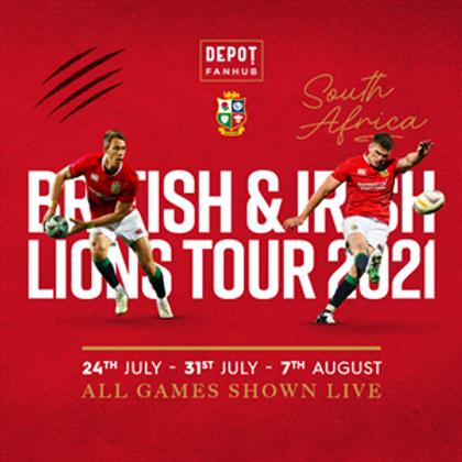 Lions Tour Saturday 7th August