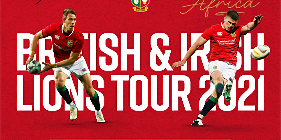 Lions Tour Saturday 31st July