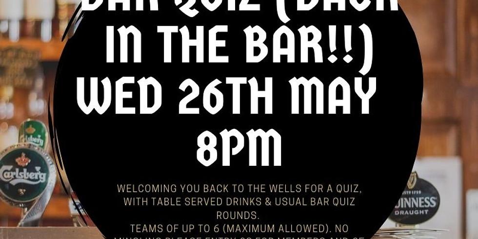 The Wells Bar Quiz