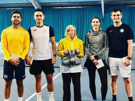 Don Barton Tennis Success!