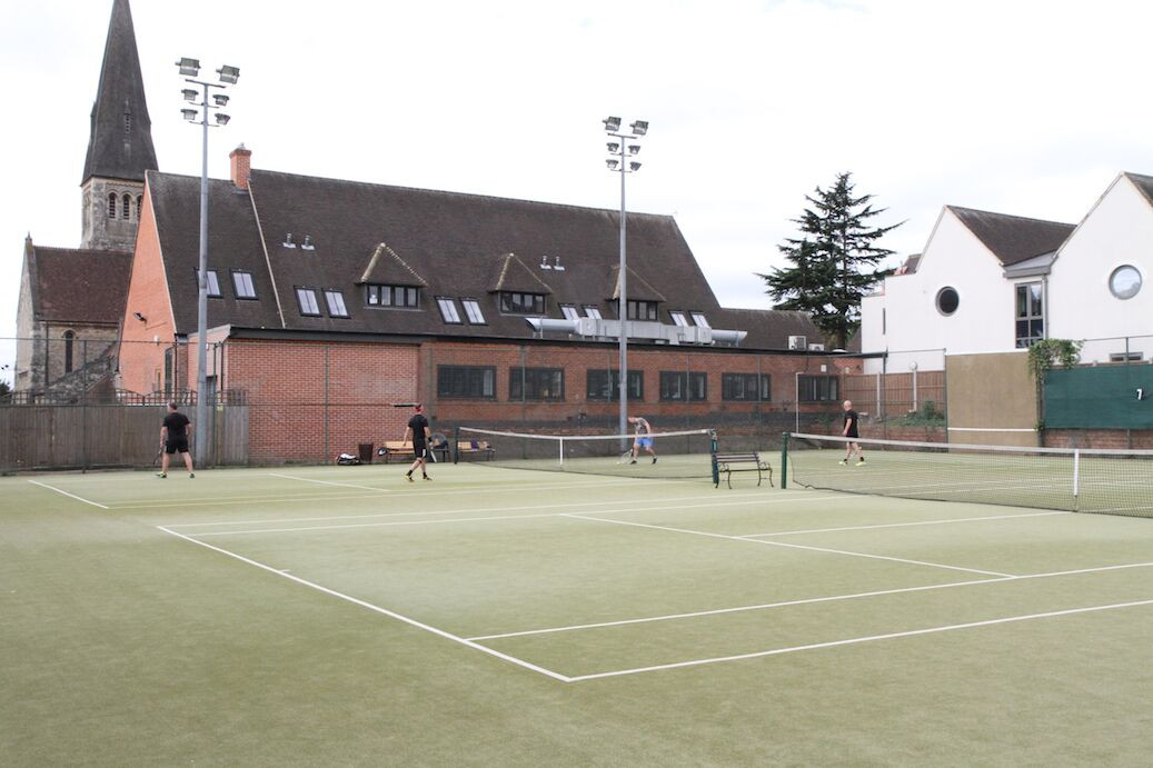 5 Futher Artificial Grass Courts