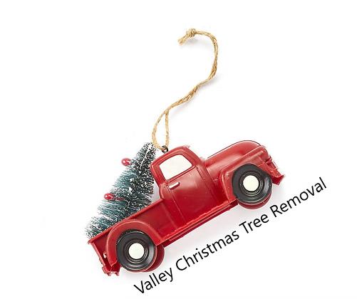 Christmas Tree Donation Commemorative Ornament