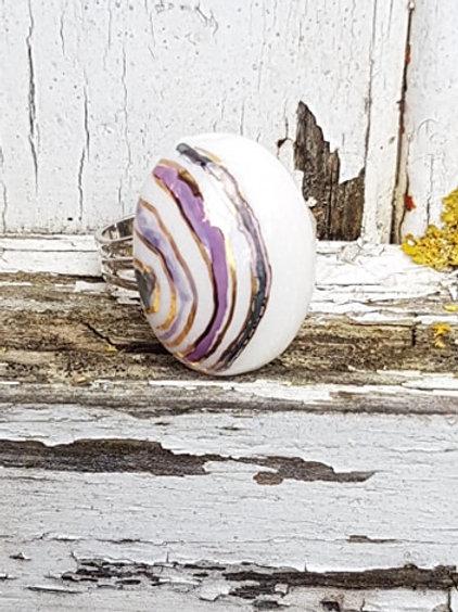 Porcelaine ring